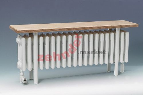 Радиатор-скамейка Zehnder Charleston Bench CB5026-27 N1270 RAL 9016
