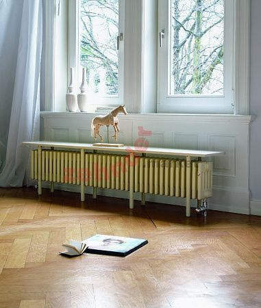 Радиатор-скамейка Zehnder Charleston Bench CB4026-31 N1270 RAL 9016